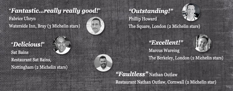 Quotes from chefs